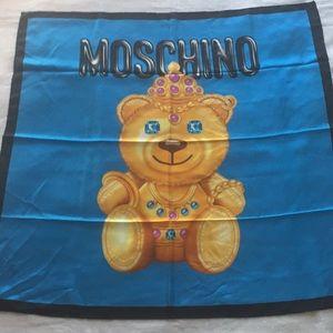 Moschino x Jeremy Scott Silk Square Scarf NWT